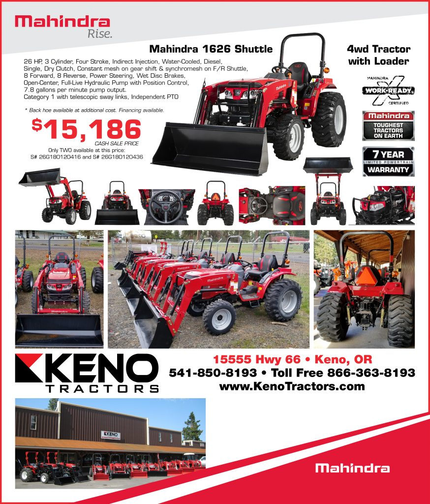 The Mahindra Tough 1626 Tractor, from Keno Tractors! Get