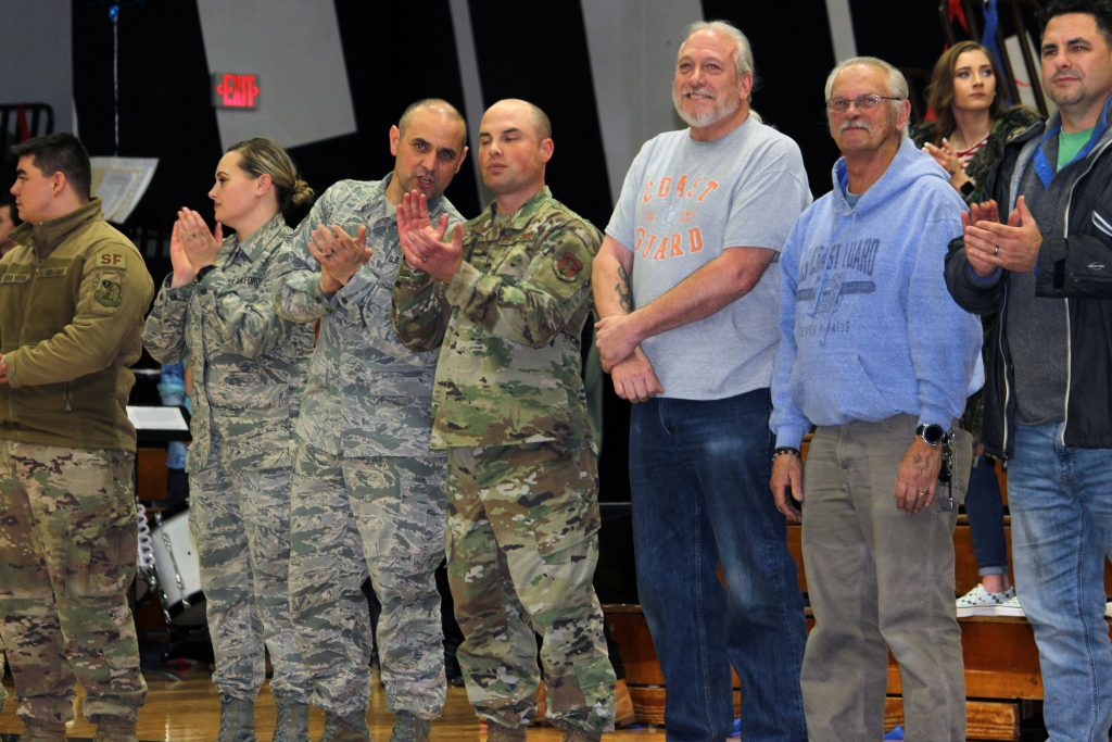Military Honored Henley Appreciation Night