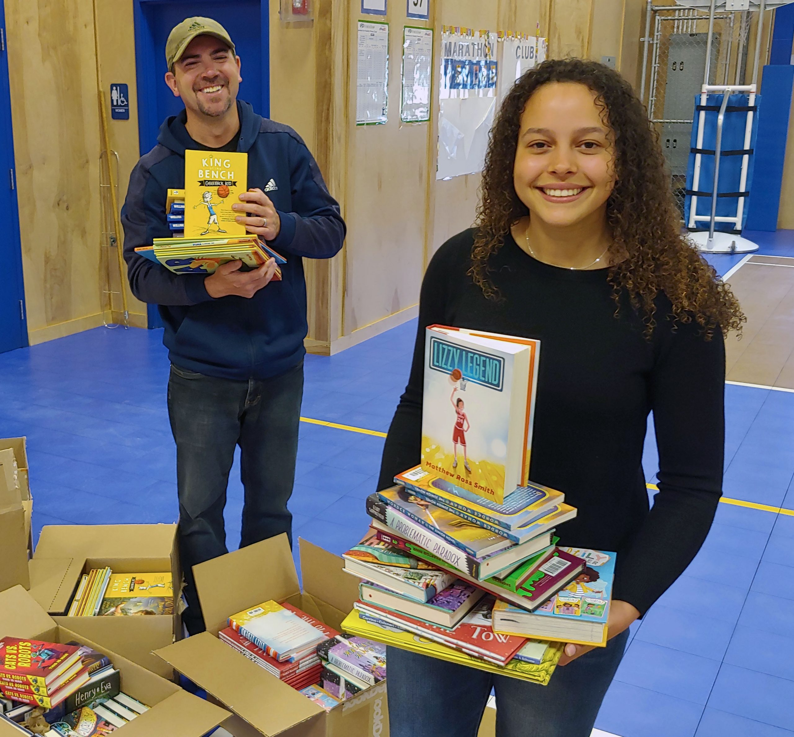 Toys For Tots Donates 2,300 New Books To County Schools